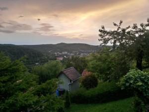Aussicht über Stuttgart von den Weinbergen