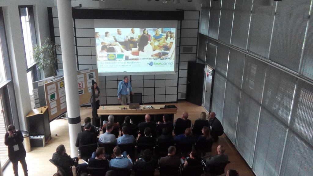 Barcamp Heilbronn, Technik, Turm, Werbevideos